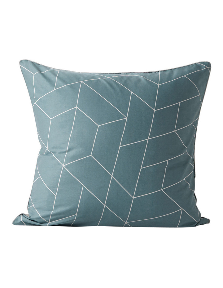 Cos Quilt Cover Range in Silver Blue image 2