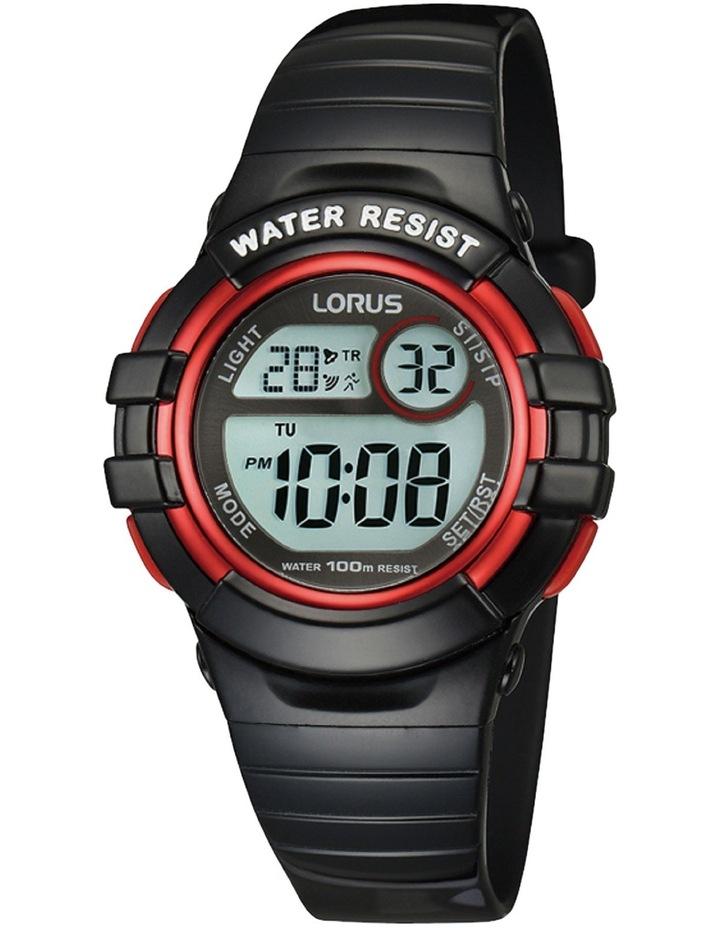 R2379Hx-9 Black Digital Sports Watch image 1