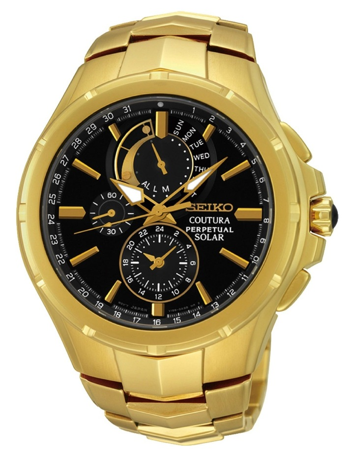 Ssc394P Coutura Solar Chronograph Sports/Dress Watch image 1