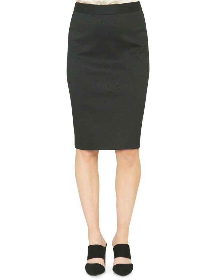 Estela Textured Suit Skirt image 1