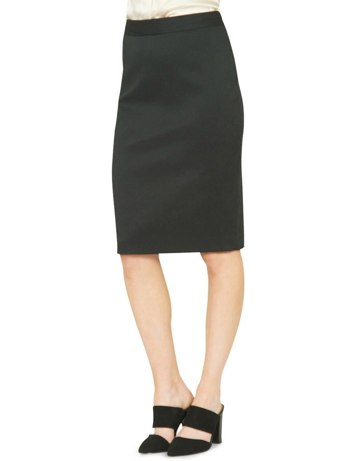 Estela Textured Suit Skirt image 2