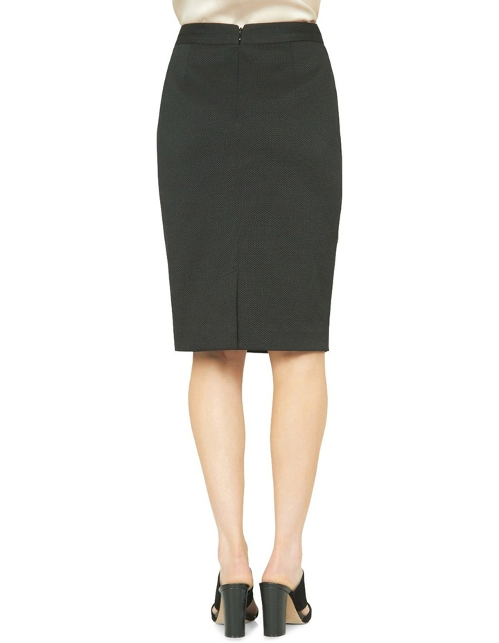 Estela Textured Suit Skirt image 3