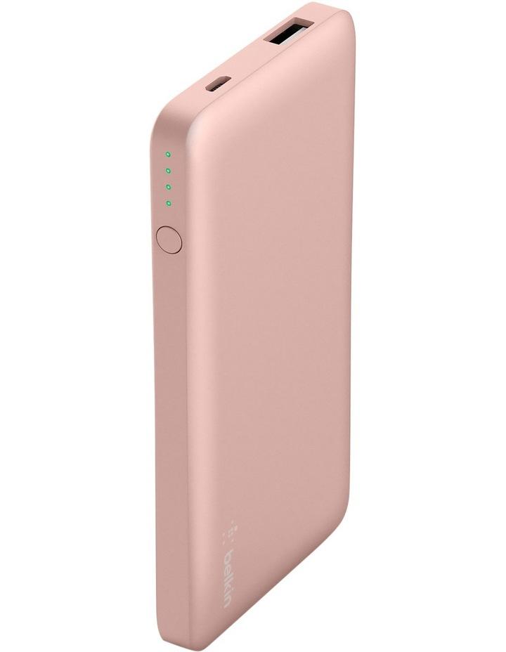 Pocket Power 5000mAh Power Bank - Rose Gold image 1