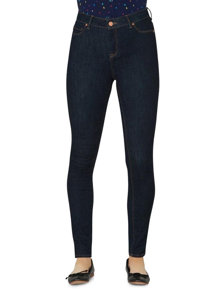 Fitzroy Indigo-rinse Smart Skinny Jeans image 1