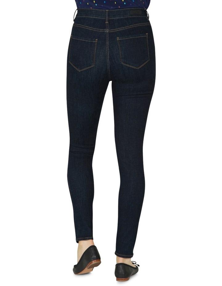 Fitzroy Indigo-rinse Smart Skinny Jeans image 3