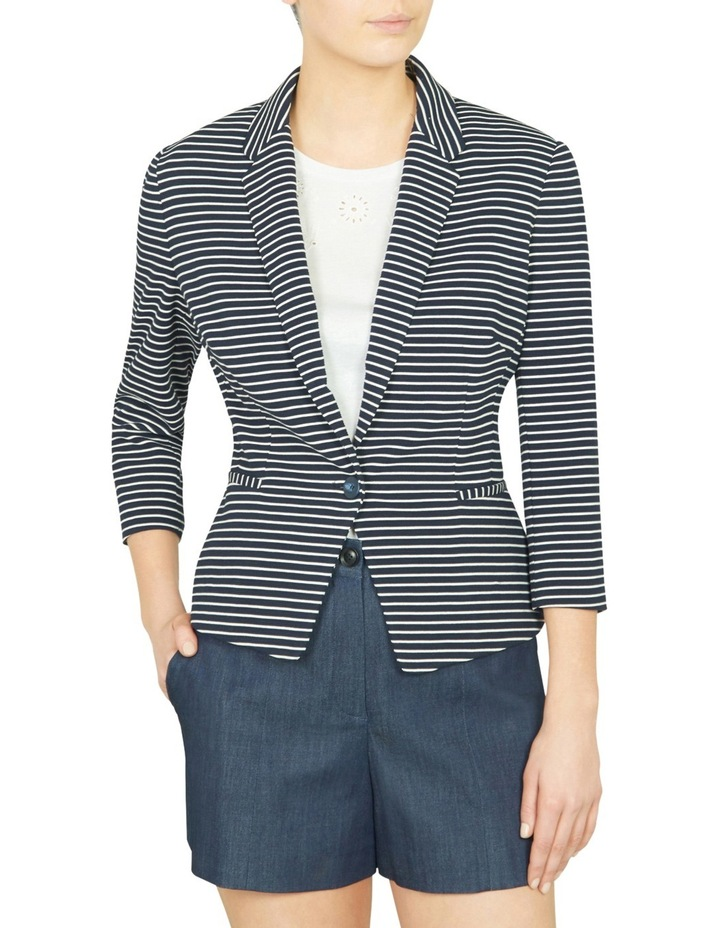 Olivia Striped Blazer image 1