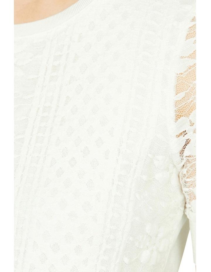 Malin Lace Panel Top image 4