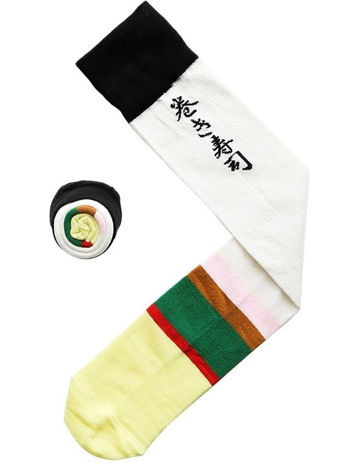 Sushi Socks - Futomaki image 1