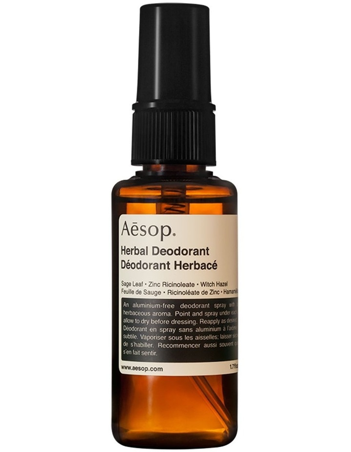 Herbal Deodorant 50mL image 1