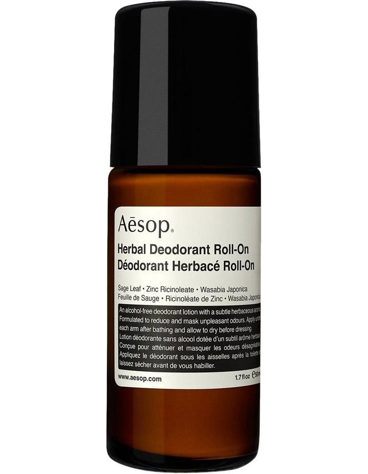 Aesop Herbal Deodorant Roll-On 50ml image 1