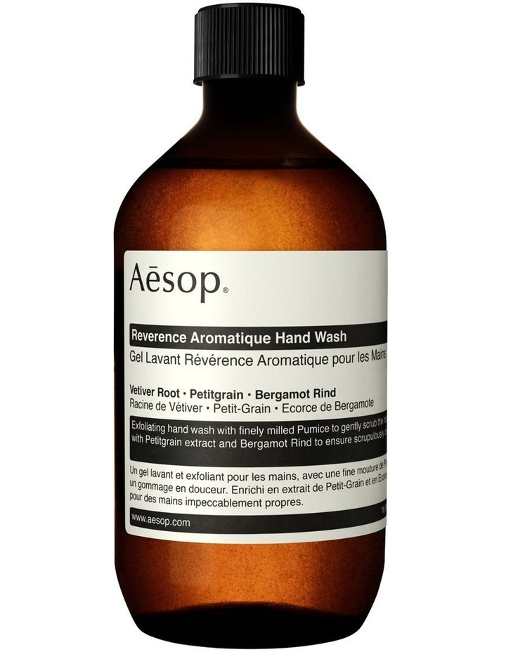 Reverence Aromatique Hand Wash 500ml with Screw Cap image 1
