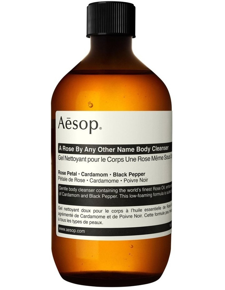 A Rose By Any Other Name Body Cleanser 500ml with Screw Cap image 1
