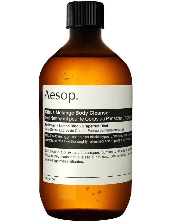 Citrus Melange Body Cleanser 500mL with Screw Cap image 1