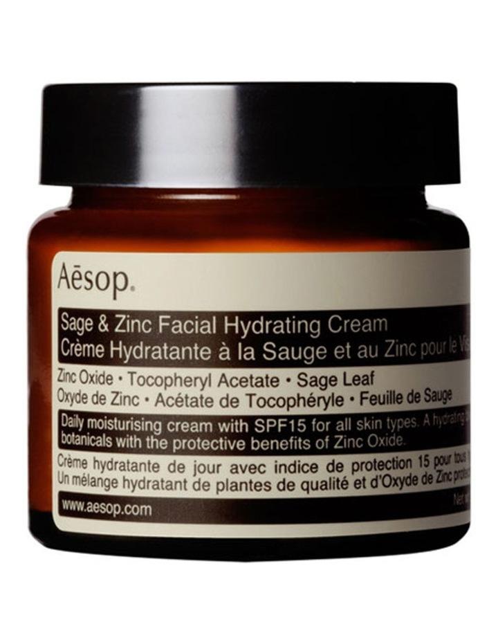 Sage & Zinc Facial Hydrating Cream SPF15 image 1