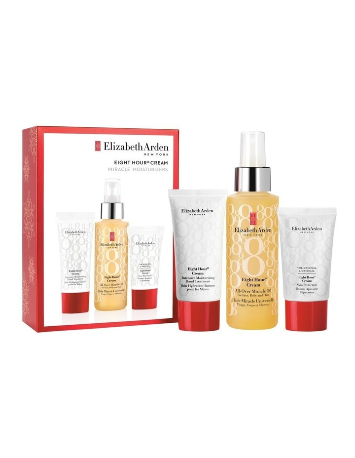 Elizabeth Arden Eight Hour Cream All Over Miracle Oil 3Pce Set image 1