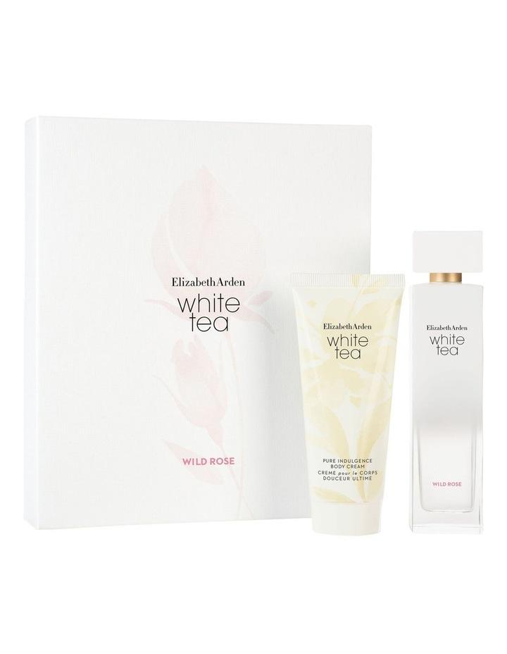 White Tea Wild Rose 100ml EDT Two Piece Set image 1