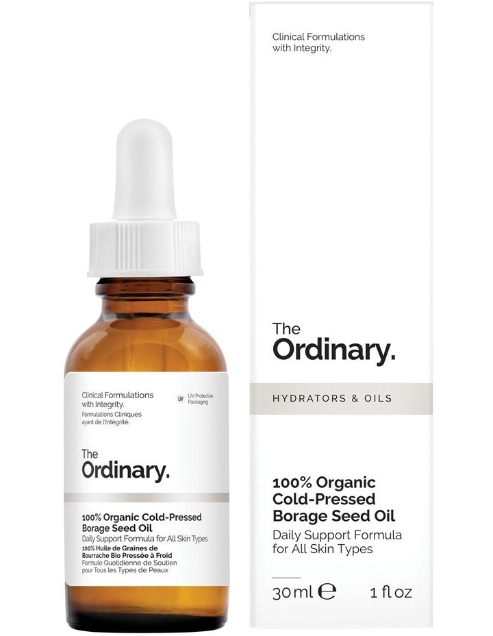 100% Organic Cold-Pressed Borage Seed Oil - 30ml image 1