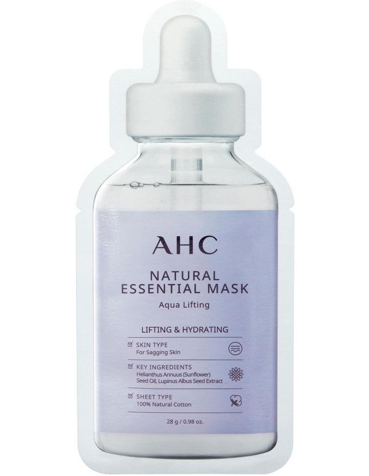 Natural Essential Mask Aqua Lifting 28g image 1