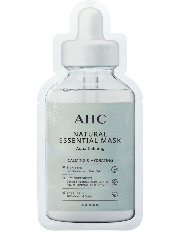 Natural Essential Mask Aqua Calming 28g image 1