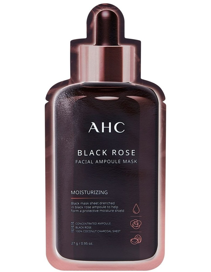 Black Rose Facial Ampoule Mask 27g image 1