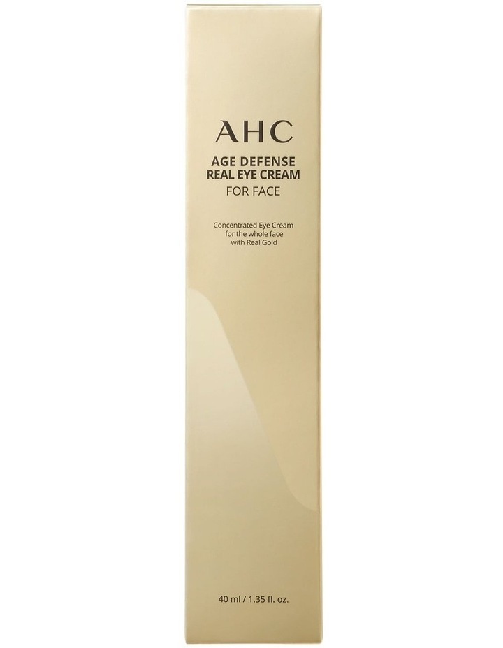 Age Defense Real Eye Cream for Face 40ml image 2