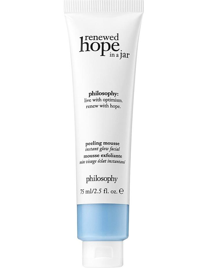 Philosophy Renewed Hope Peeling Mousse 75Ml - Reneved Hope Moisturiser 60ml & Turbo Booster C Powder image 2