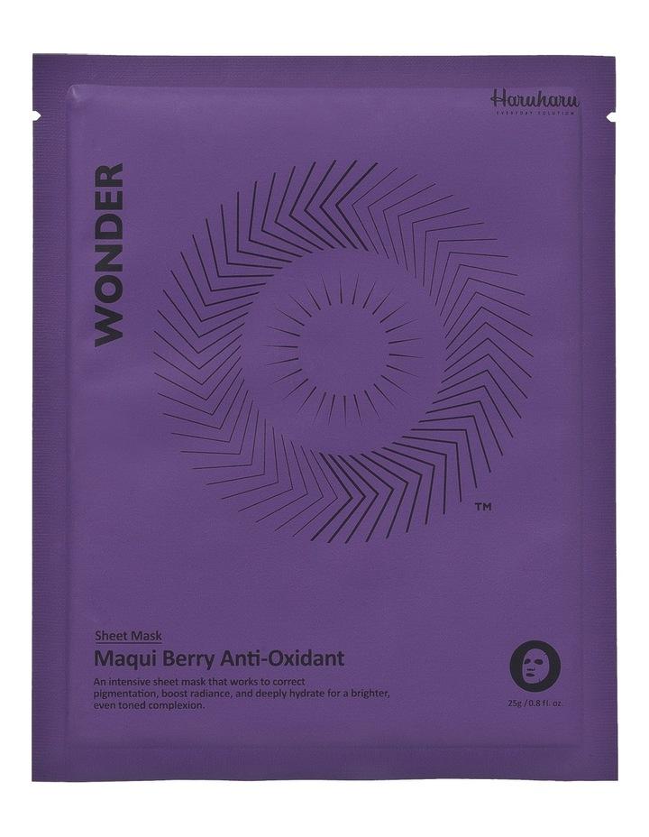 Wonder Maqui Berry Anti-Oxidant Mask 5 Pack image 1