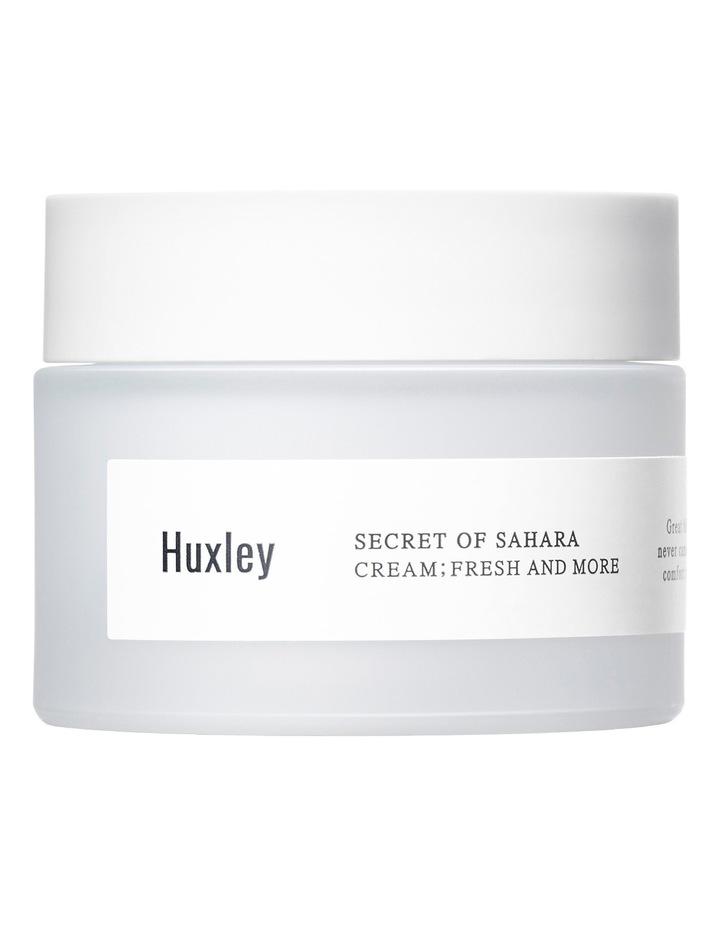 Huxley Cream; Fresh And More 50ml image 1