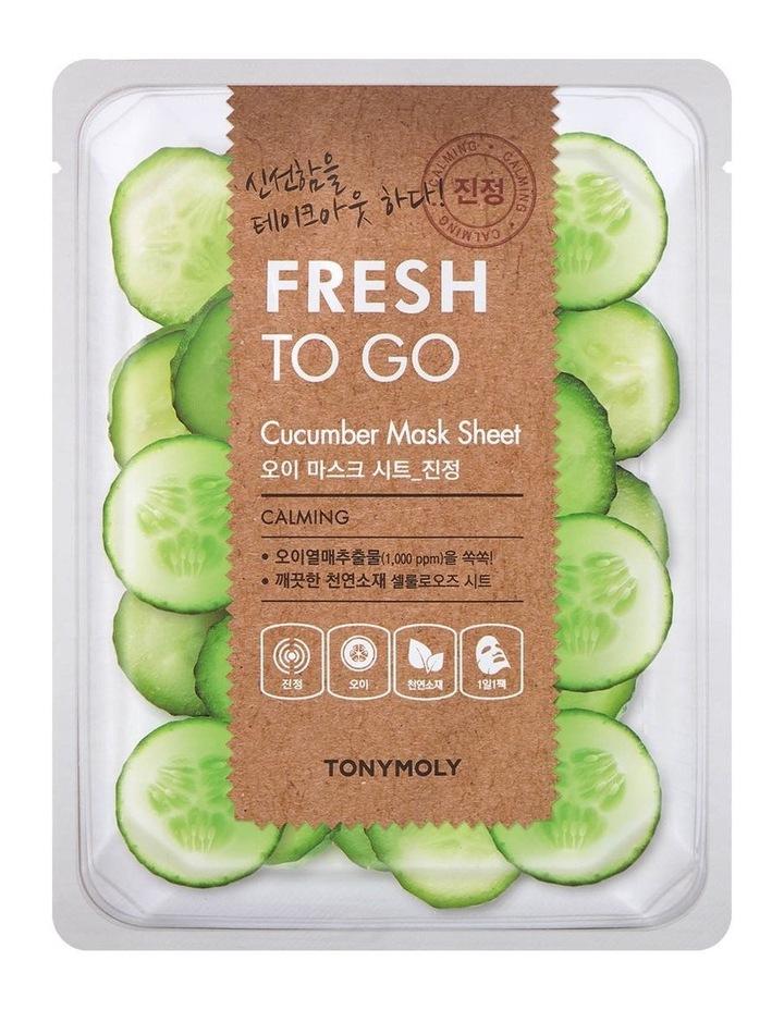 Fresh To Go Cucumber Mask Sheet image 1