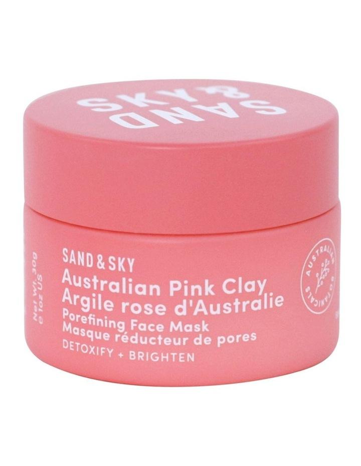 Travel Sized - Australian Pink Clay - Porefining Face Mask image 2