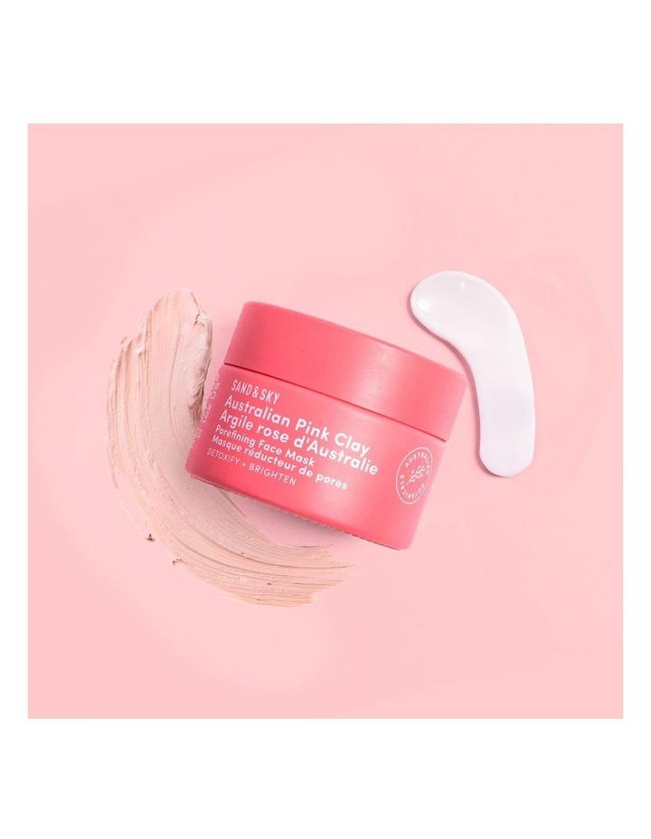 Travel Sized - Australian Pink Clay - Porefining Face Mask image 4