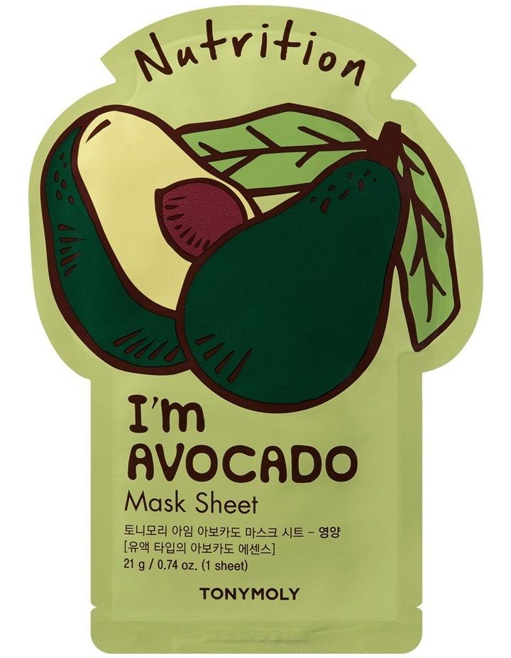 I'm Avocado Mask Sheet image 1