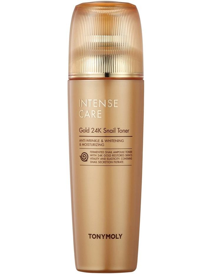 Intense Care Gold 24K Snail Toner 140ml image 1