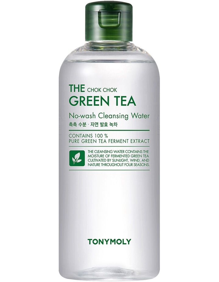 Tonymoly The Chok Chok Green Tea Cleansing Water 300ml image 1