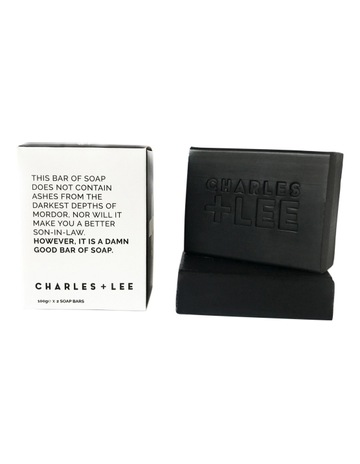 7a66bba3eb Charles   Lee Charcoal Soap Duo