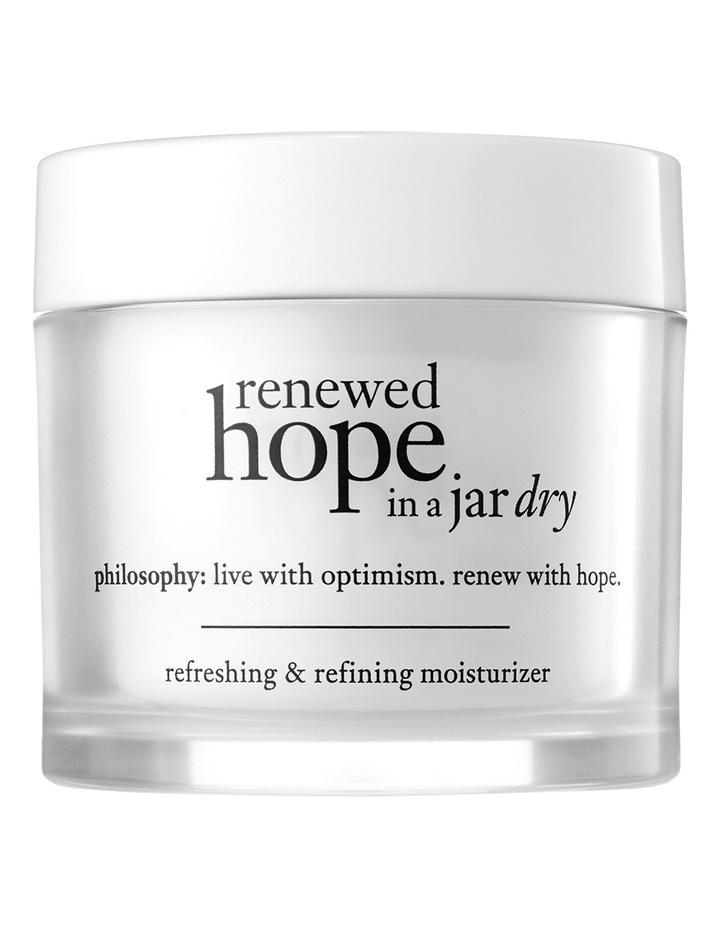Renewed Hope In A Jar Refreshing & Refining Moisturiser For Dry Skin image 1