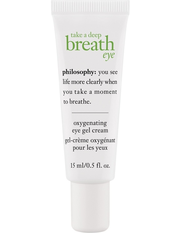 Take A Deep Breath Oxygenating Eye Gel Cream image 1