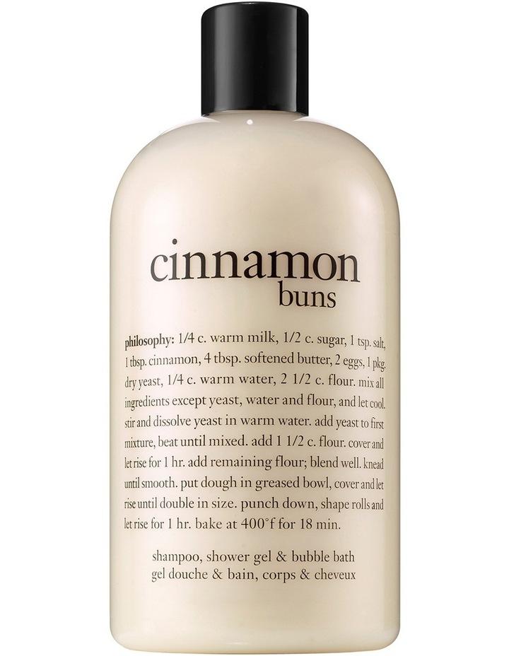 Cinnamon Buns  Shampoo  Bath And Shower Gel image 1