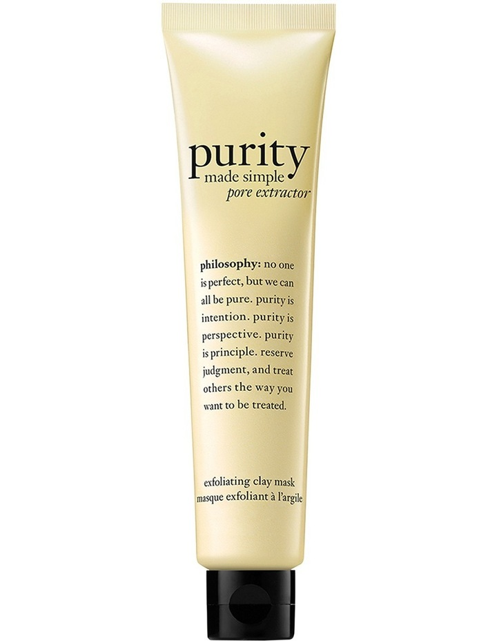 Purity Made Simple Exfoliating Clay Mask image 2