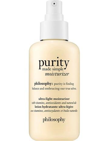 PhilosophyPurity Made Simple Ultra Light Moisturizer Philosophy Purity