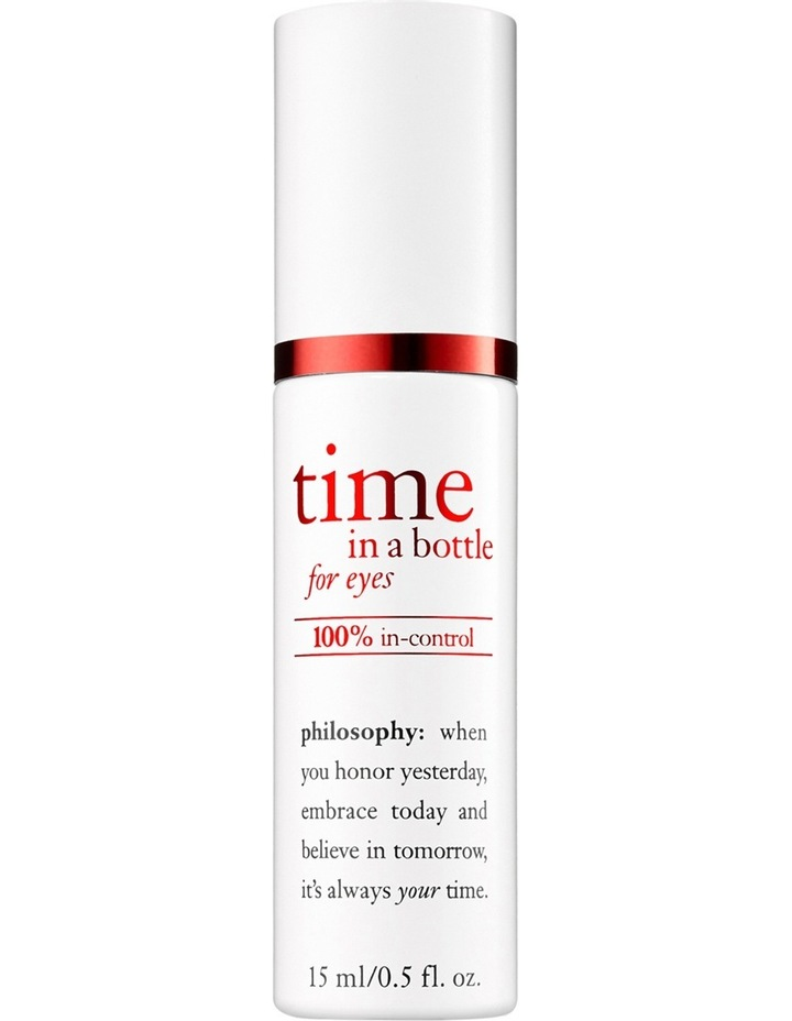 Time In a Bottle 100% in-control Resist Renew Repair Eye Serum image 1
