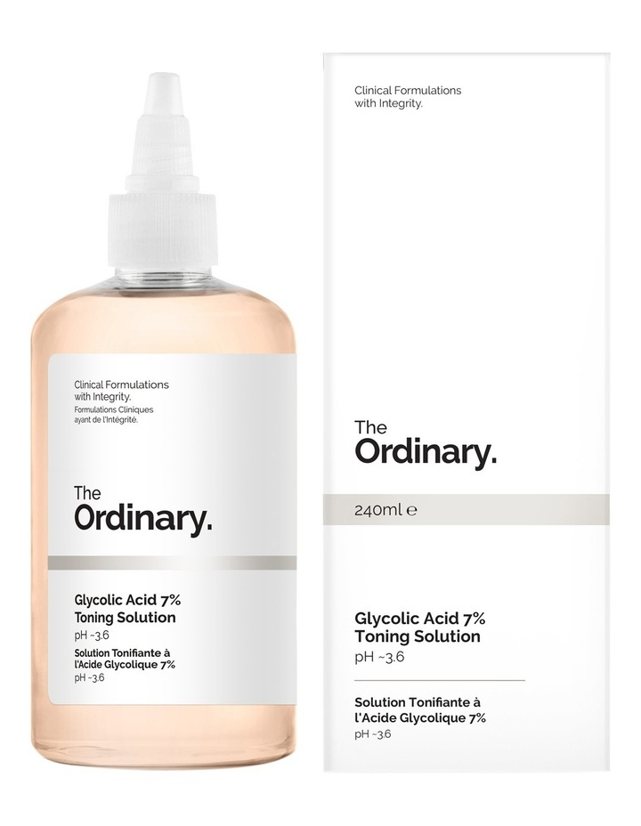 The Ordinary Glycolic Acid 7% Toning Solution 240ml image 1