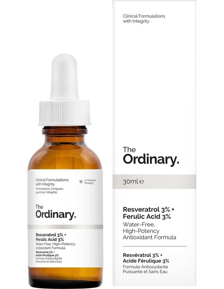 Resveratrol 3%   Ferulic Acid 3% 30ml image 1