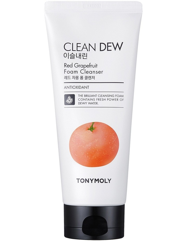 Clean Dew Red Grapefruit Foam Cleanser image 1