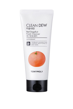 Tonymoly - Clean Dew Red Grapefruit Foam Cleanser