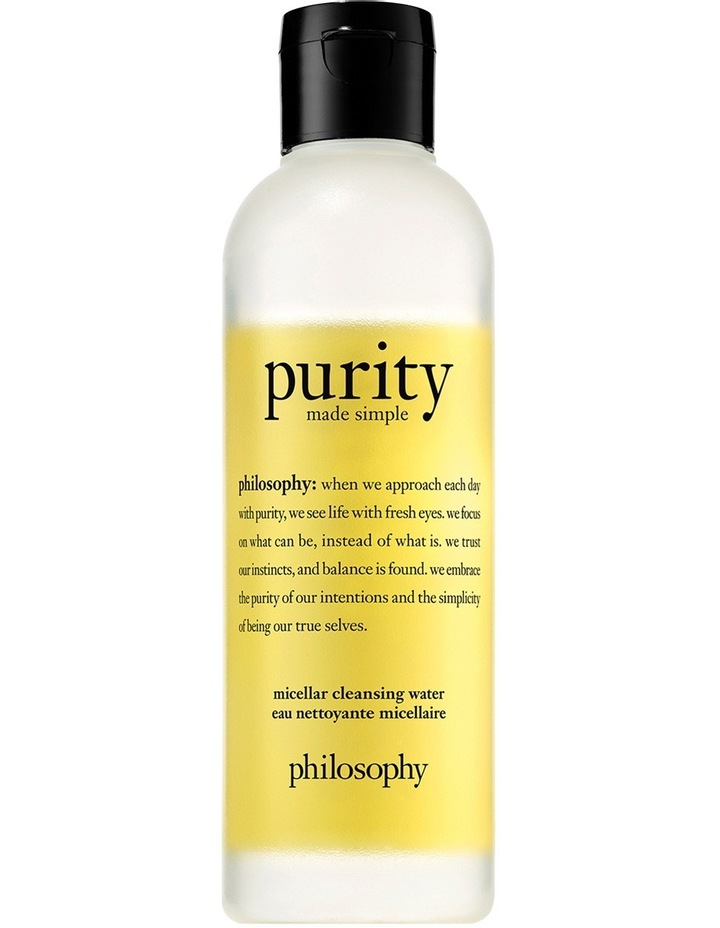 Purity Made Simple Cleansing Micellar Water 200ml image 1