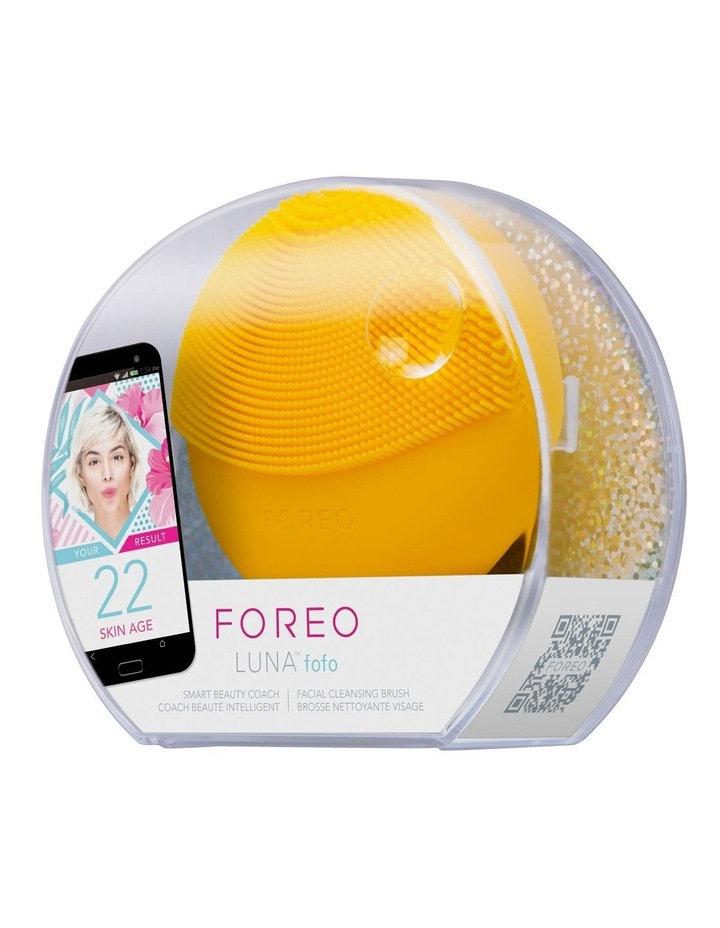 FOREO LUNA fofo Sunflower Yellow image 1