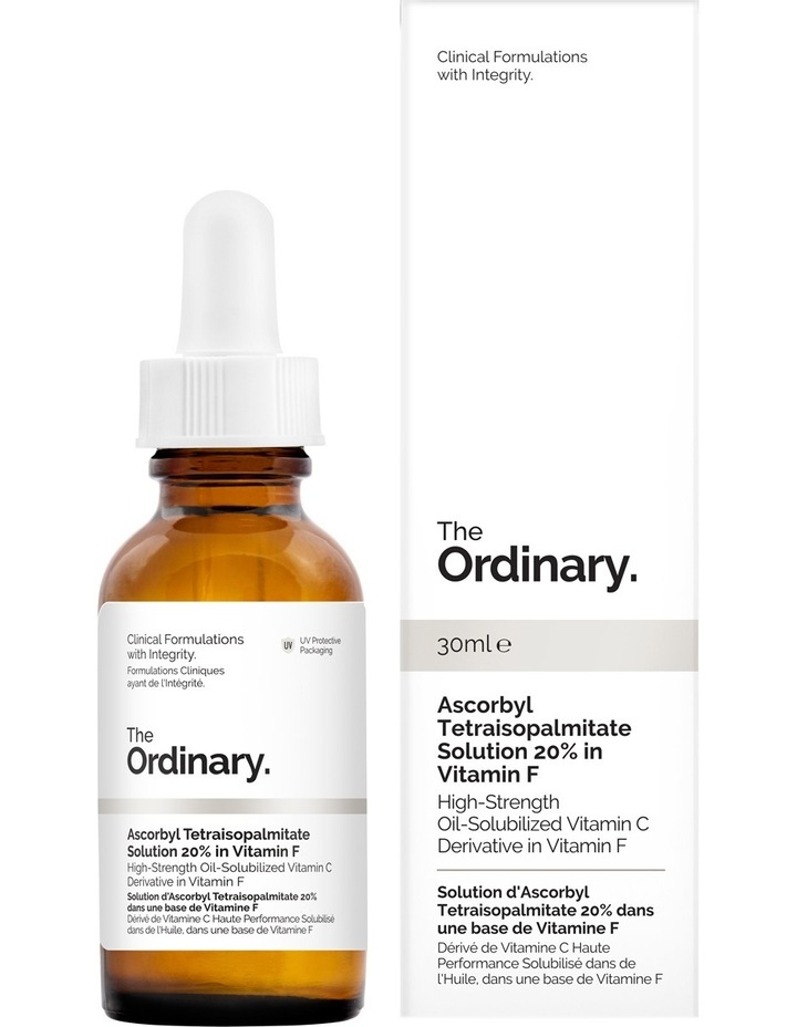 Ascorbyl Tetraisopalmitate Solution 20% in Vitamin F - 30ml image 1