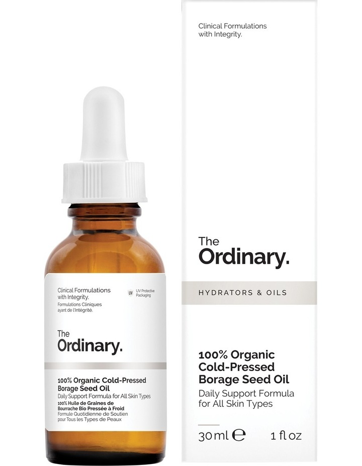 100% Organic Cold-Pressed Borage Seed Oil - 30ml image 1