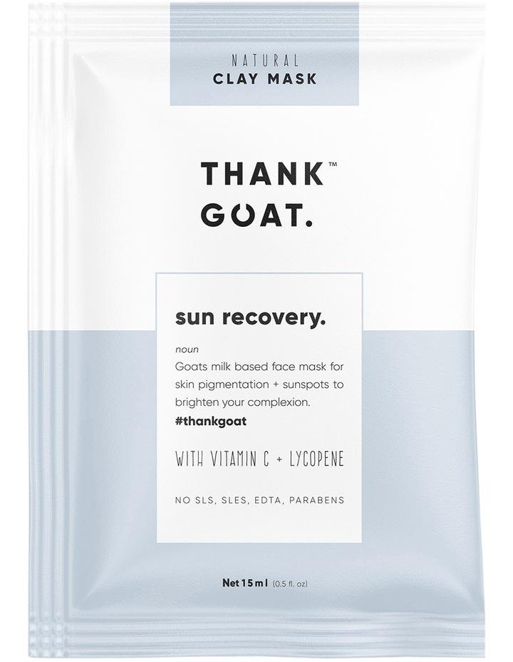 Sun Recovery Mask Sheet 1pc image 1